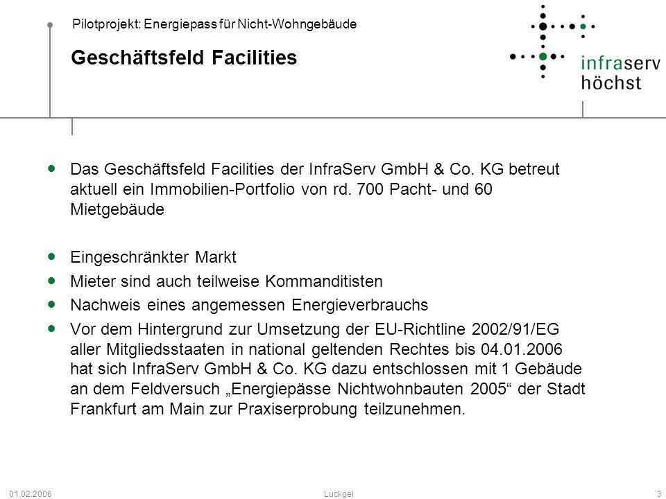 Geschäftsfeld Facilities