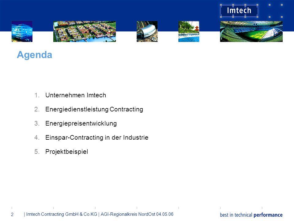 Agenda Unternehmen Imtech Energiedienstleistung Contracting