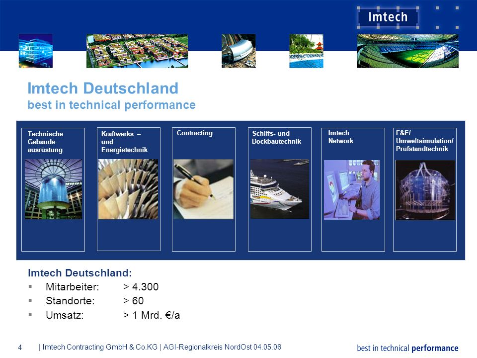 Imtech Deutschland best in technical performance