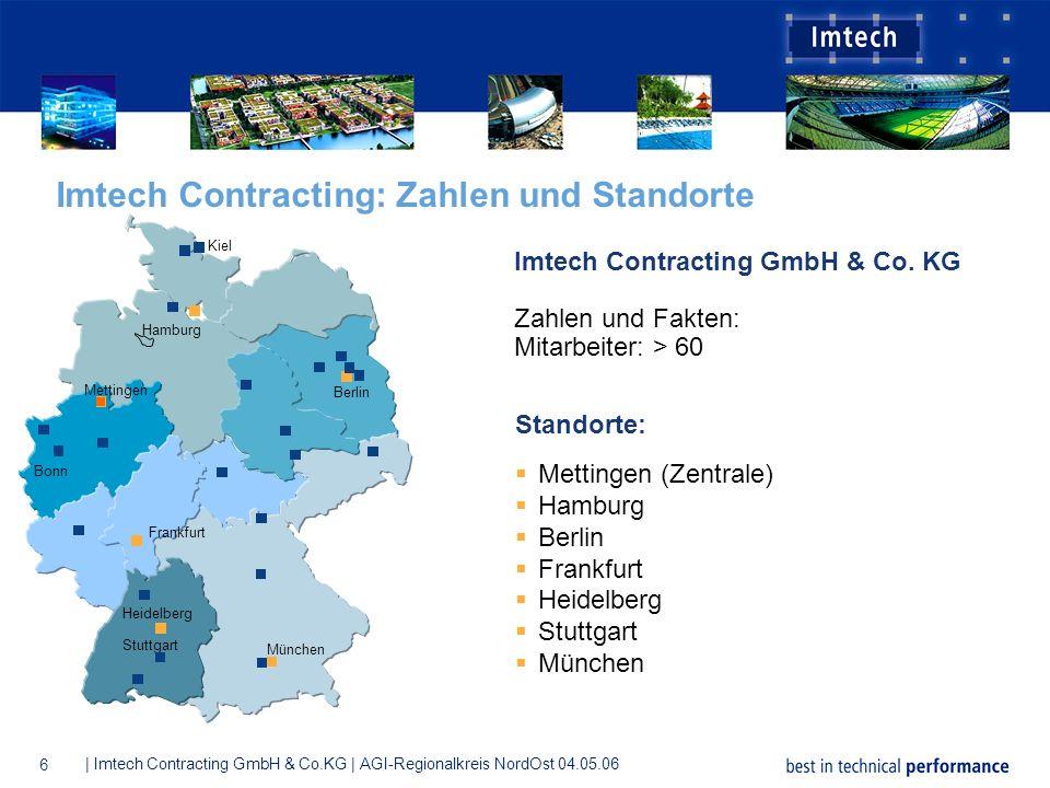 Imtech Contracting: Zahlen und Standorte
