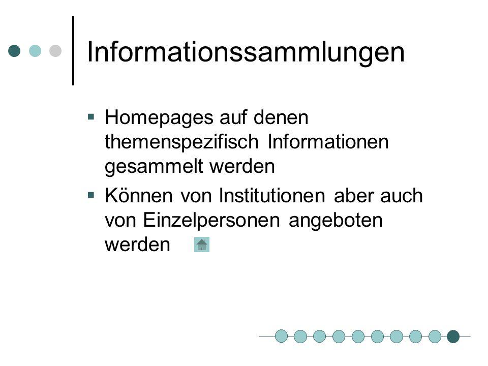 Informationssammlungen