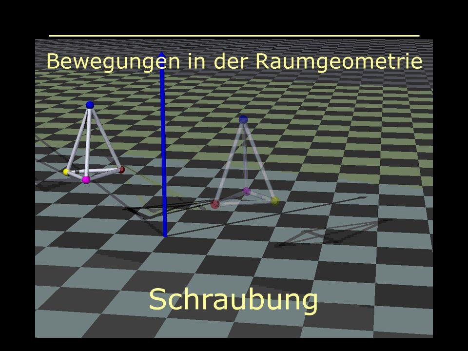 Bewegungen in der Raumgeometrie