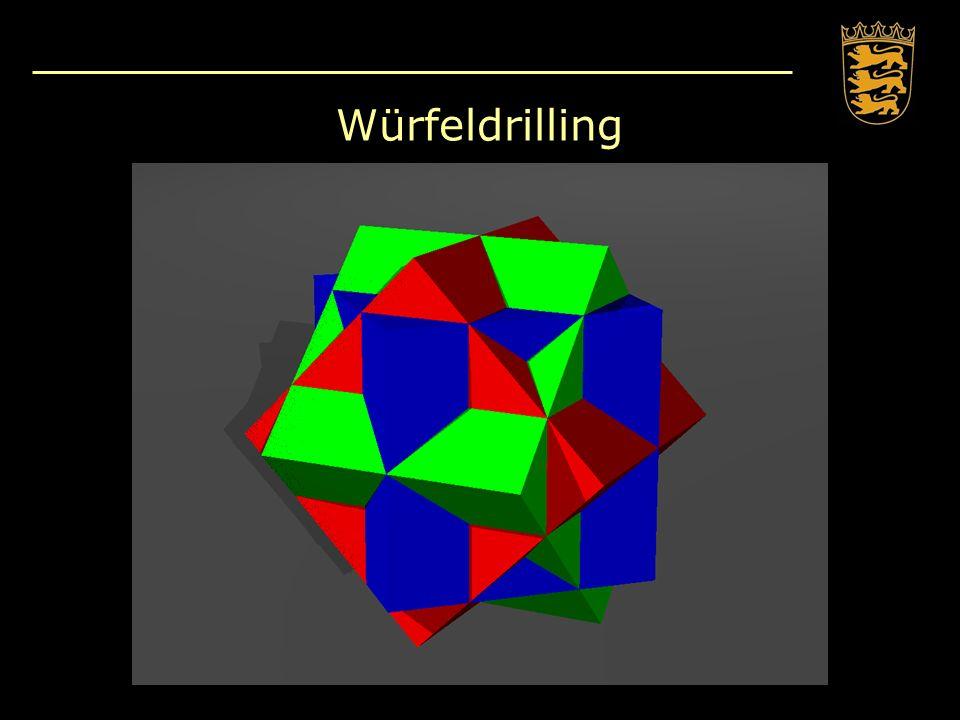 Würfeldrilling