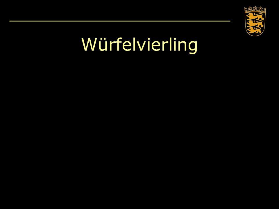Würfelvierling