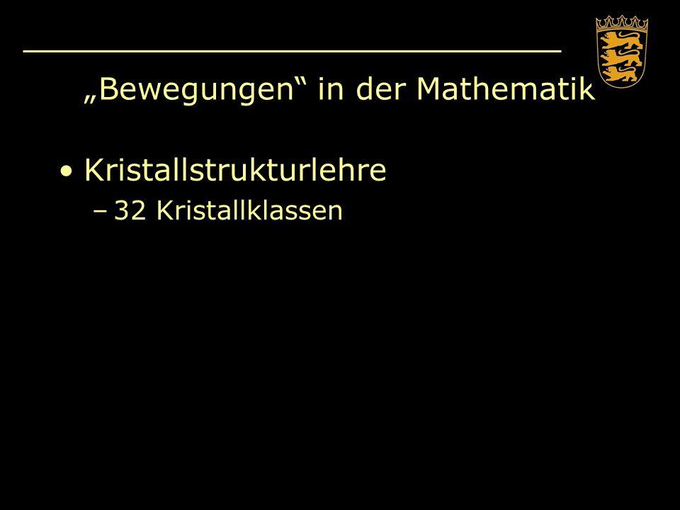 """""""Bewegungen in der Mathematik"""