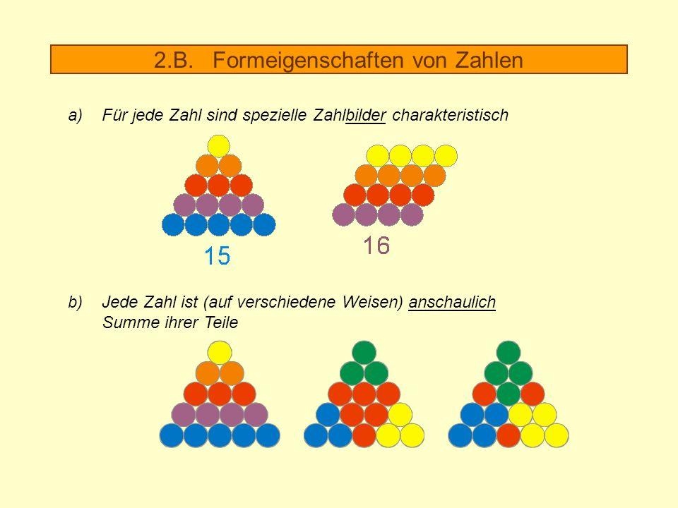2.B. Formeigenschaften von Zahlen