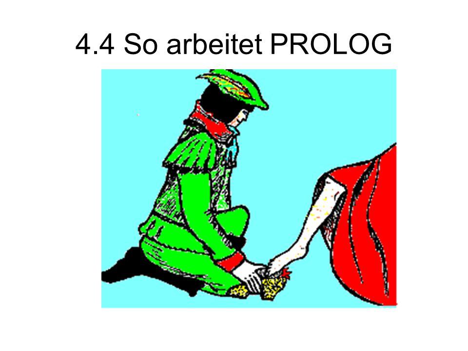 4.4 So arbeitet PROLOG