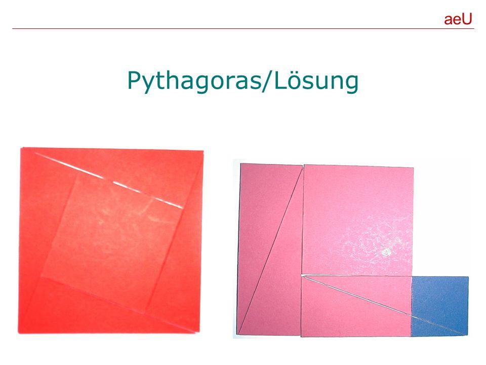 aeU Pythagoras/Lösung