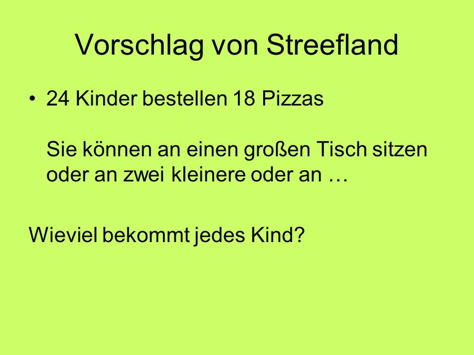 Vorschlag von Streefland