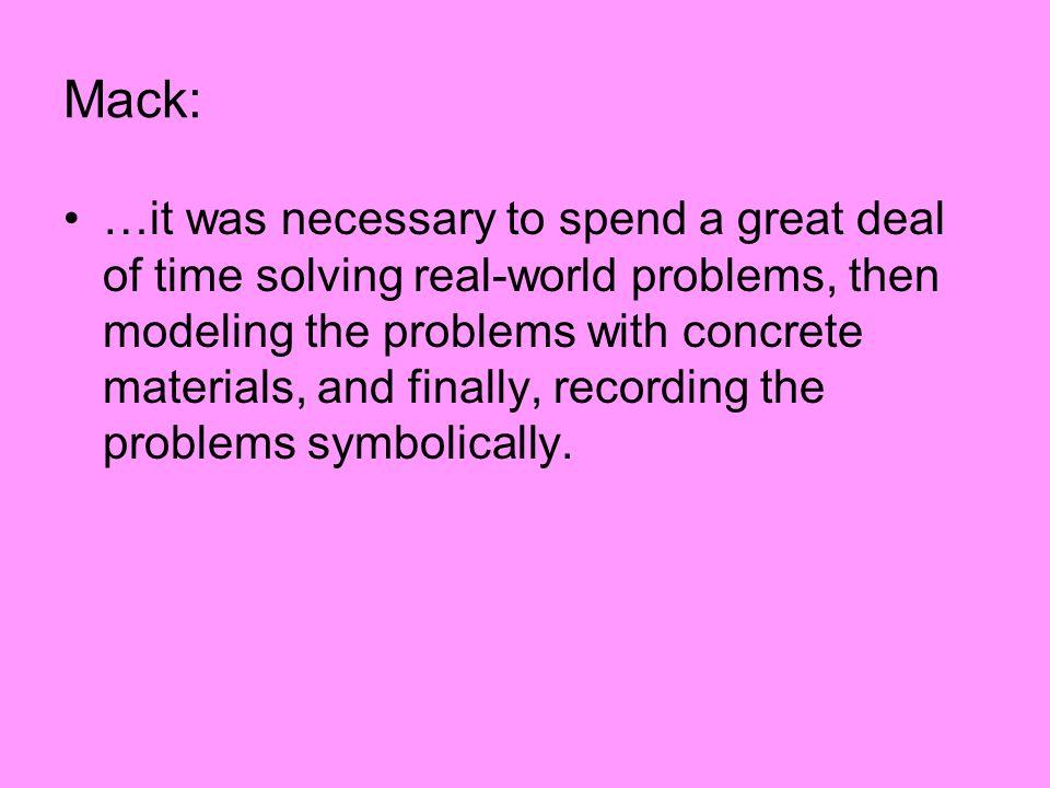 Mack:
