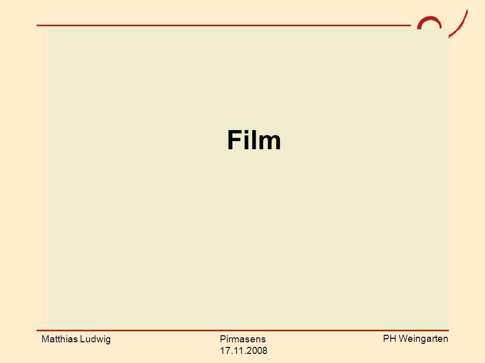 Film Film Matthias Ludwig Pirmasens 17.11.2008