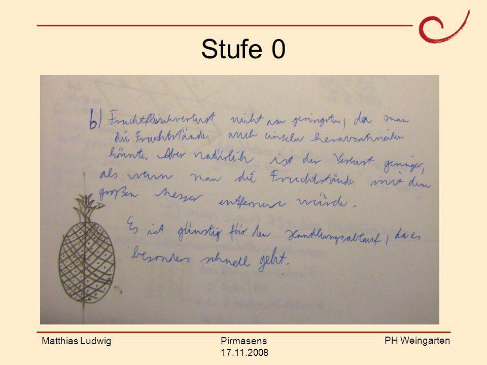 Stufe 0 Matthias Ludwig Pirmasens 17.11.2008