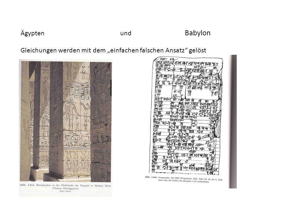 Ägypten und Babylon