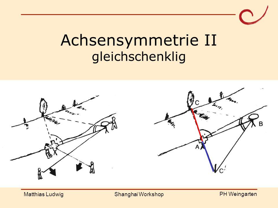 Achsensymmetrie II gleichschenklig