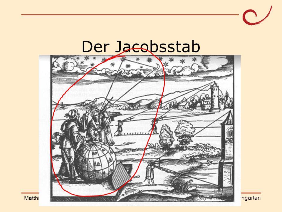 Der Jacobsstab Matthias Ludwig Shanghai Workshop
