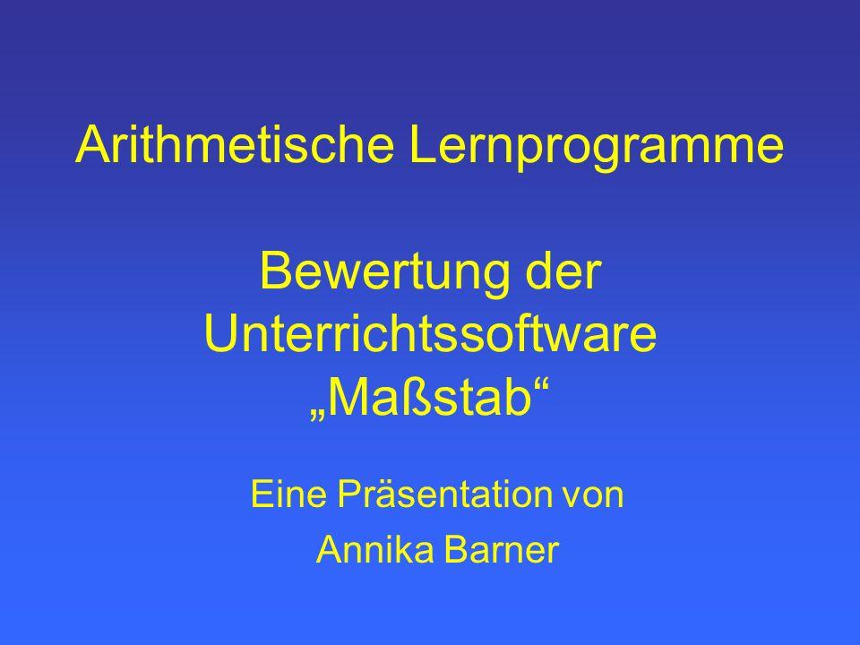 Eine Präsentation von Annika Barner