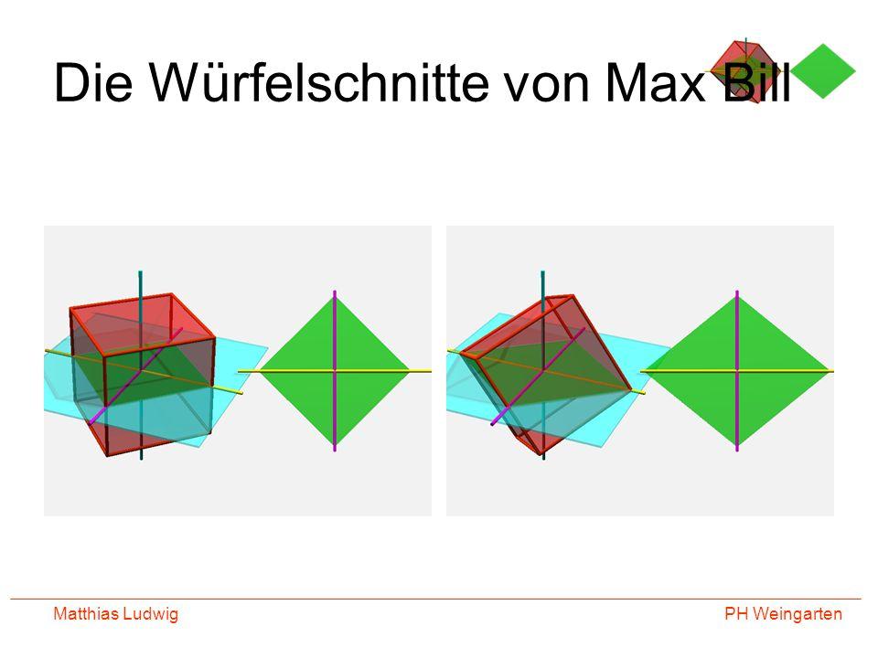 Die Würfelschnitte von Max Bill