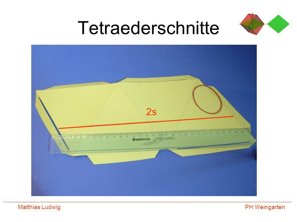 Tetraederschnitte 2s Matthias Ludwig
