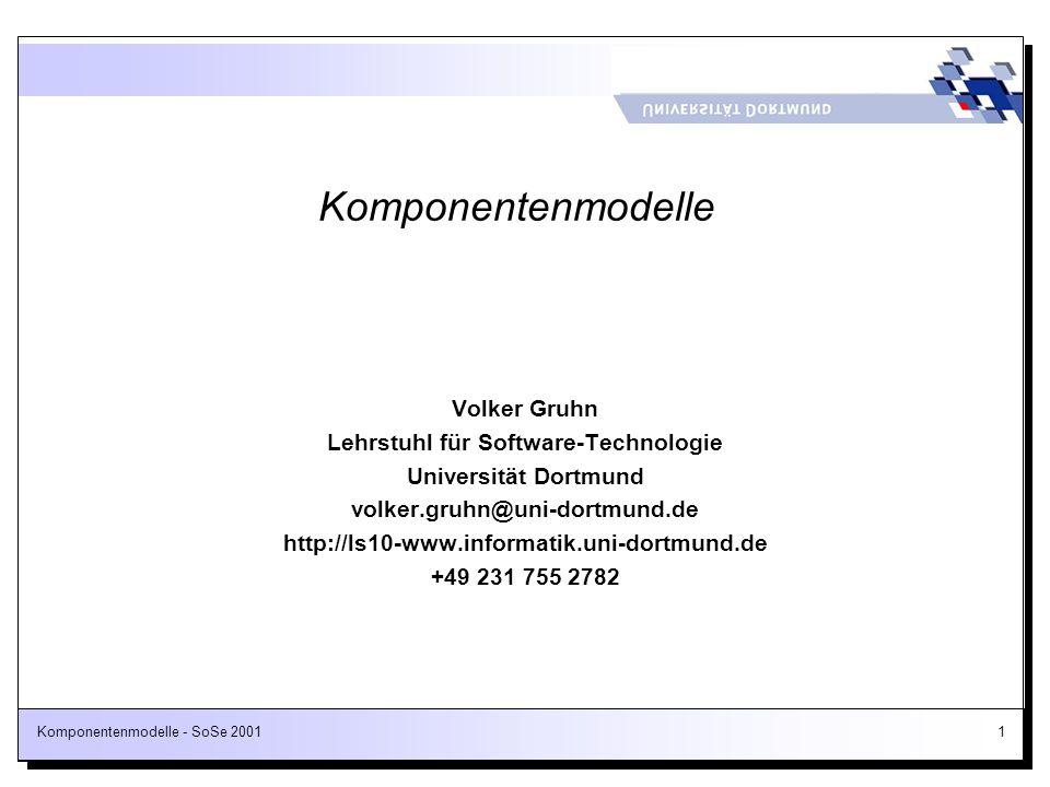 Lehrstuhl für Software-Technologie