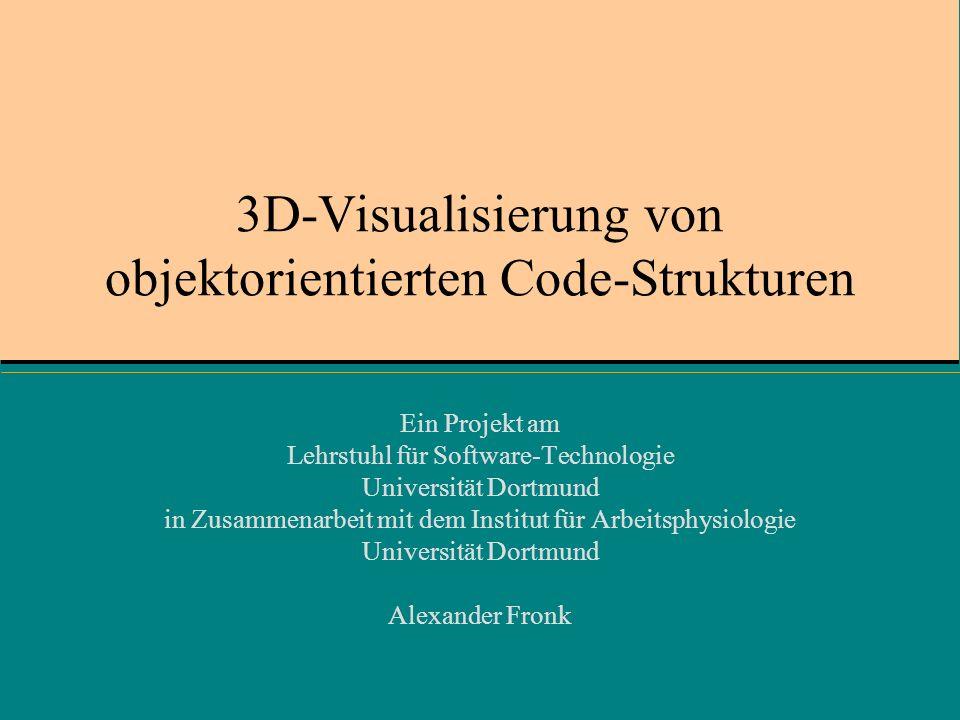 3D-Visualisierung von objektorientierten Code-Strukturen