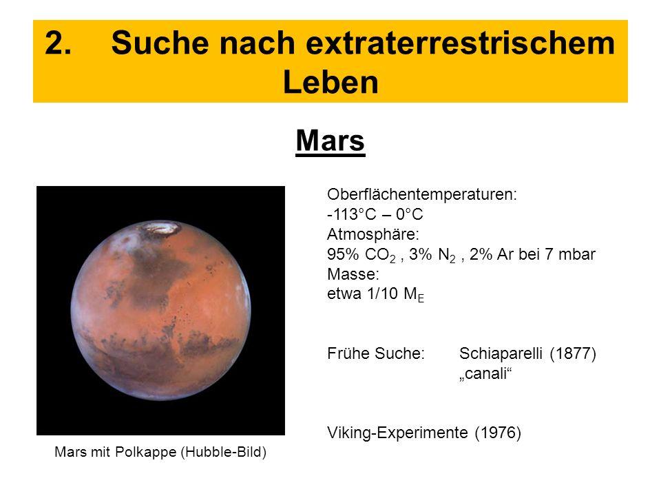 2. Suche nach extraterrestrischem Leben