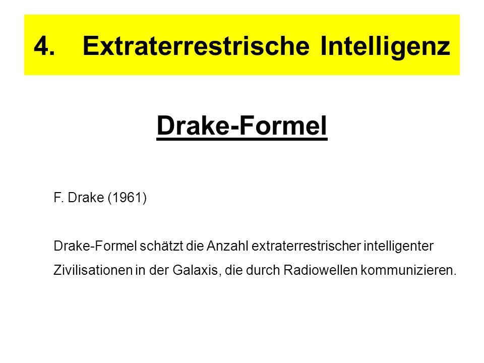 4. Extraterrestrische Intelligenz
