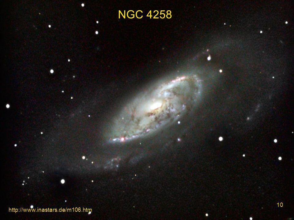 NGC 4258 10 http://www.inastars.de/m106.htm