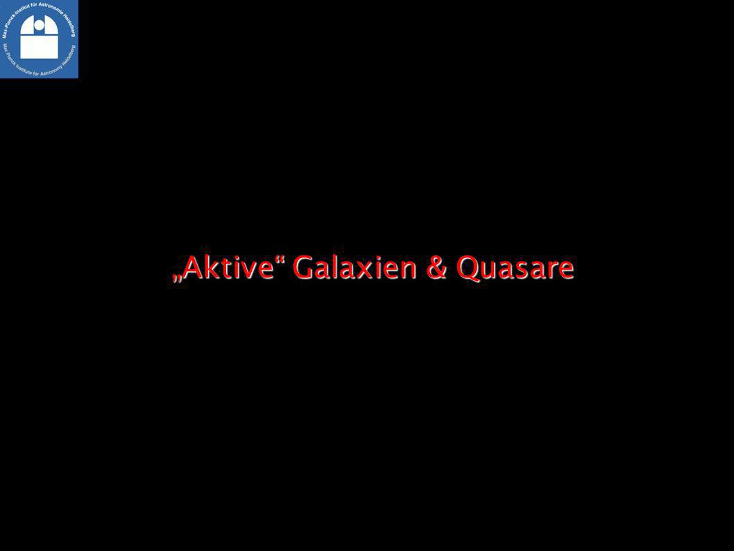 """""""Aktive Galaxien & Quasare"""