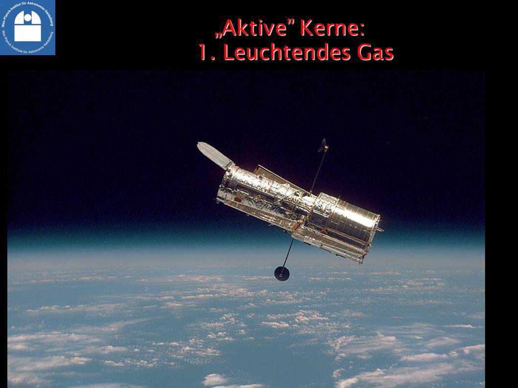 """""""Aktive Kerne: 1. Leuchtendes Gas"""