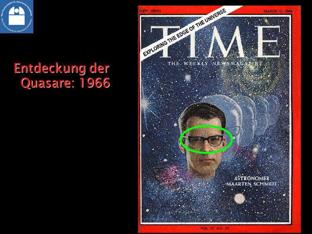 Entdeckung der Quasare: 1966