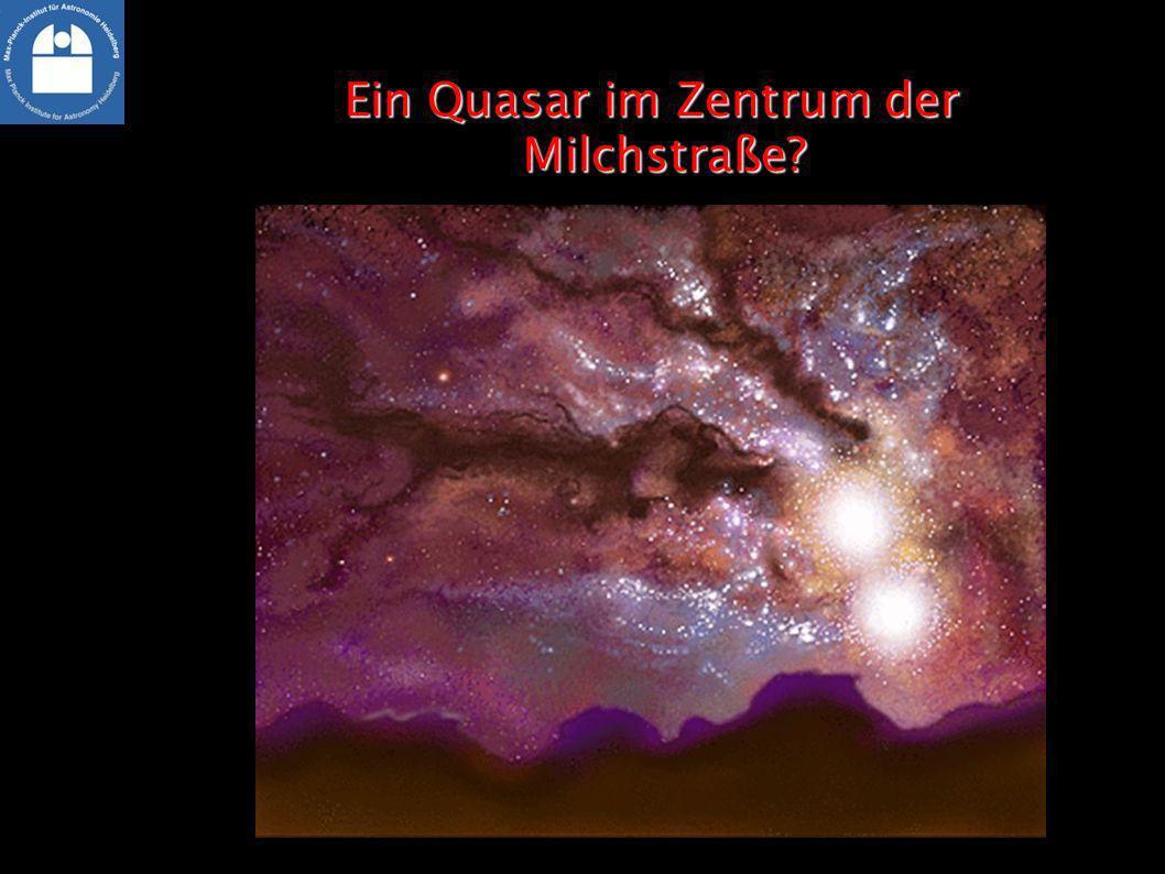 Ein Quasar im Zentrum der Milchstraße