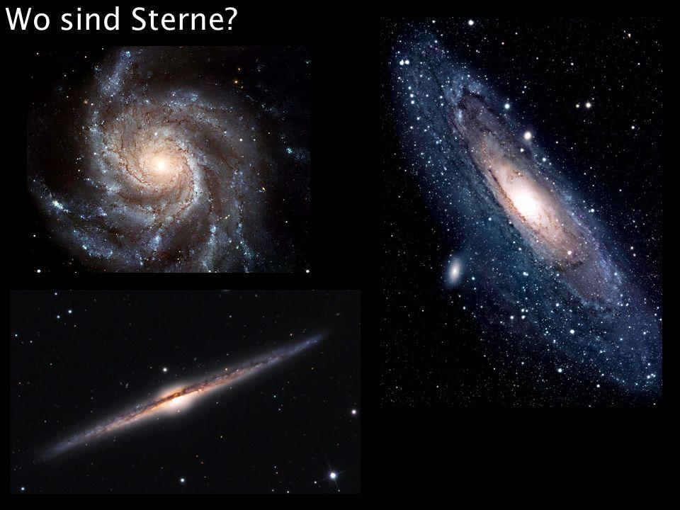 Wo sind Sterne