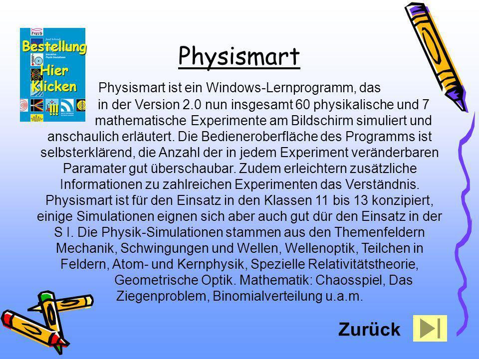 Physismart ist ein Windows-Lernprogramm, das