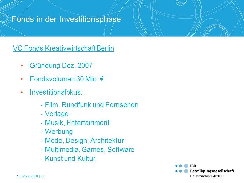 VC Fonds Kreativwirtschaft Berlin