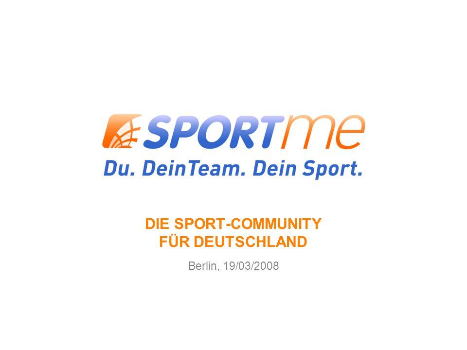 DIE SPORT-COMMUNITY FÜR DEUTSCHLAND