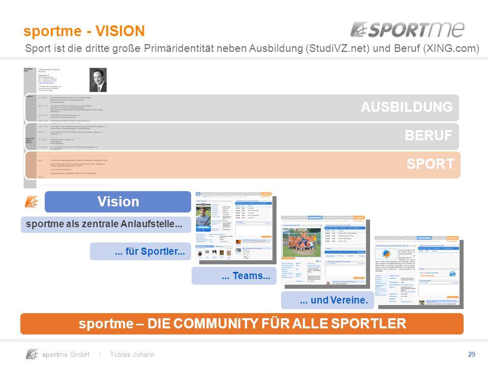 sportme - VISION AUSBILDUNG BERUF SPORT Vision