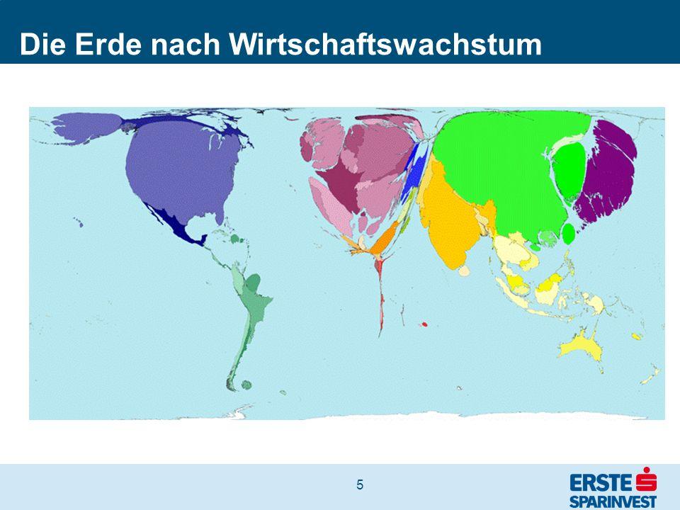 Die Erde nach Wirtschaftswachstum