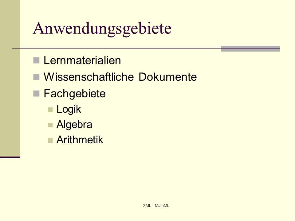 Anwendungsgebiete Lernmaterialien Wissenschaftliche Dokumente