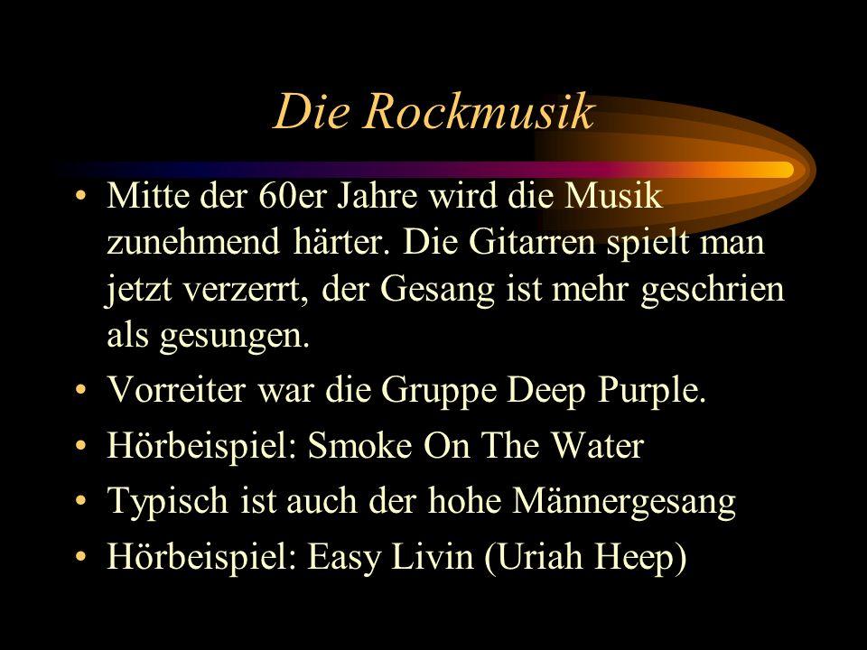 Die Rockmusik