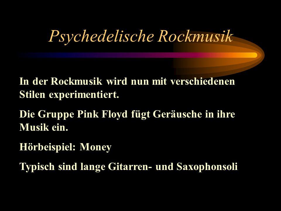 Psychedelische Rockmusik