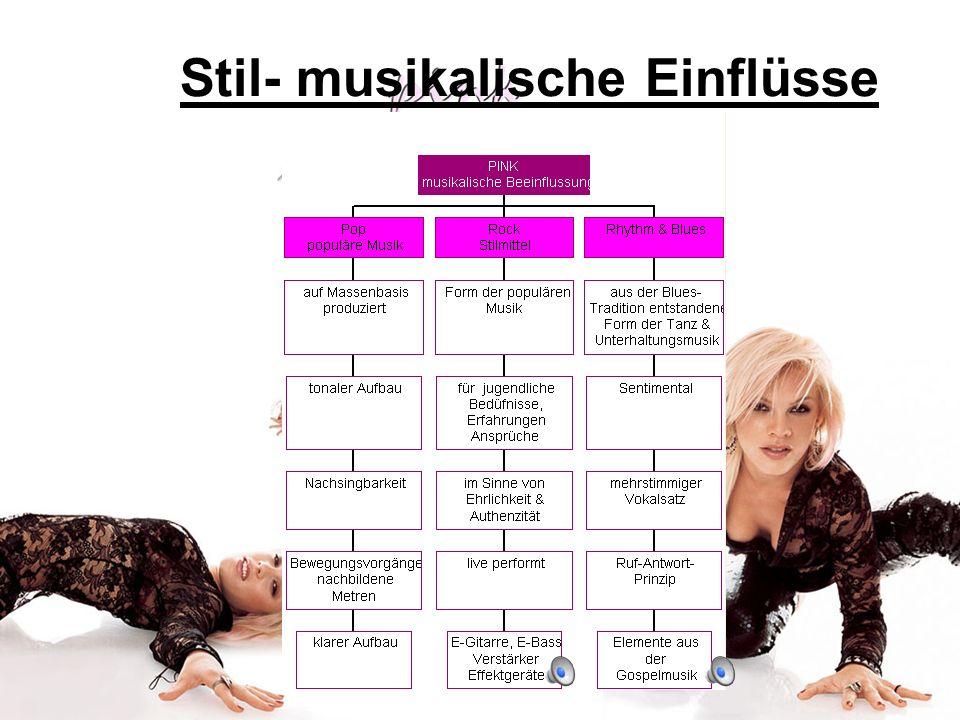 Stil- musikalische Einflüsse