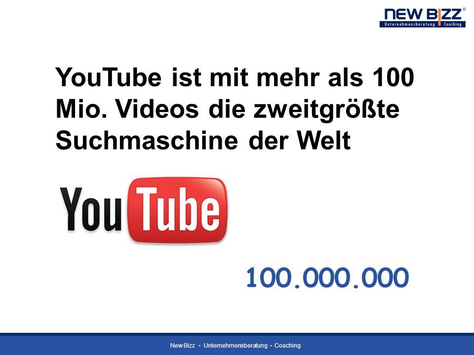 YouTube ist mit mehr als 100 Mio