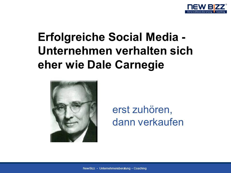 Erfolgreiche Social Media - Unternehmen verhalten sich eher wie Dale Carnegie