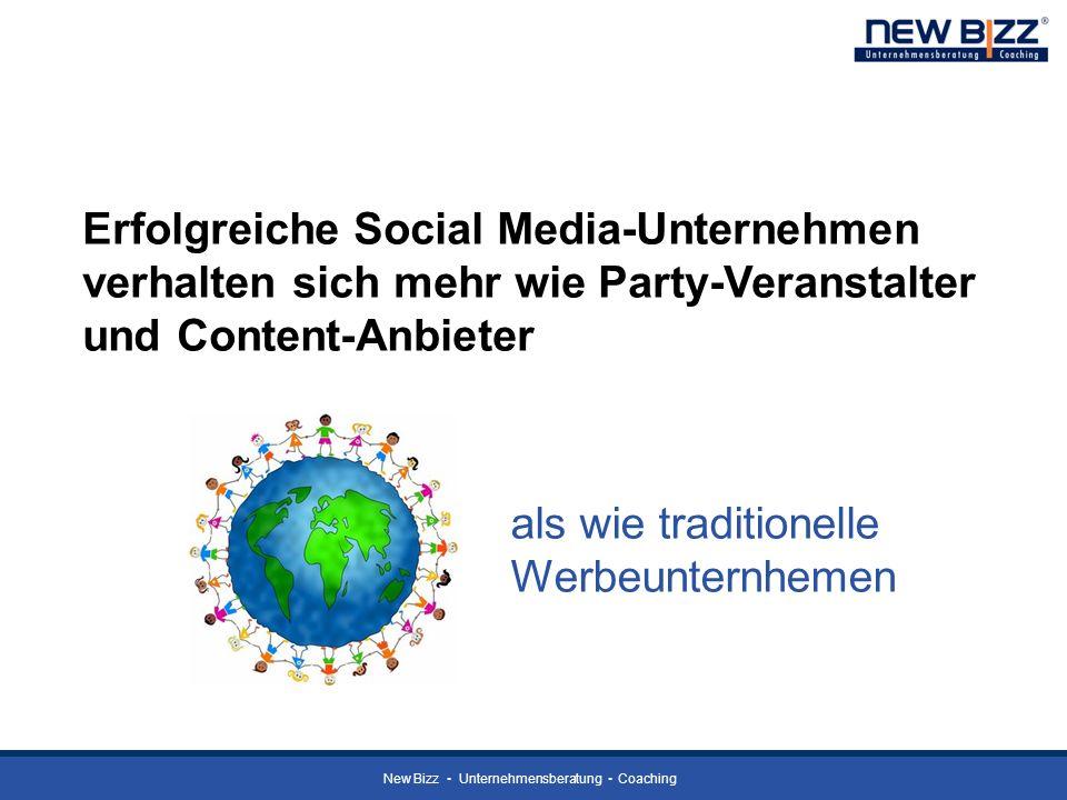 Erfolgreiche Social Media-Unternehmen verhalten sich mehr wie Party-Veranstalter und Content-Anbieter
