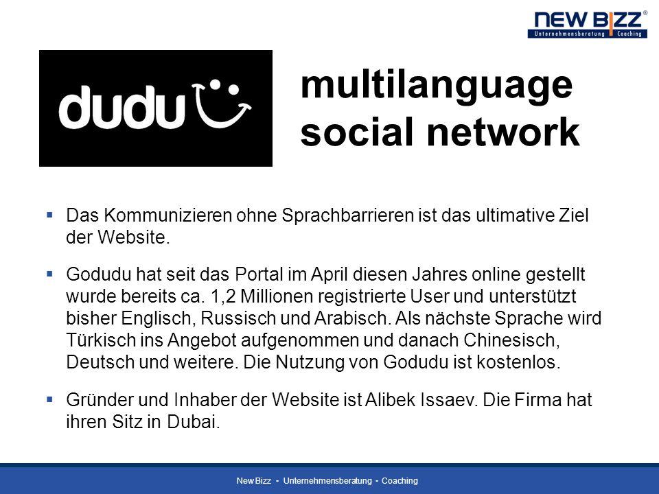 multilanguage social network