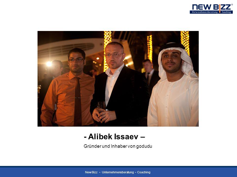- Alibek Issaev – Gründer und Inhaber von godudu