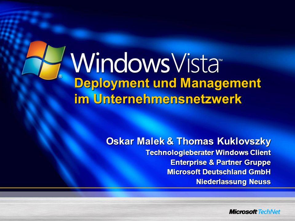 Deployment und Management im Unternehmensnetzwerk