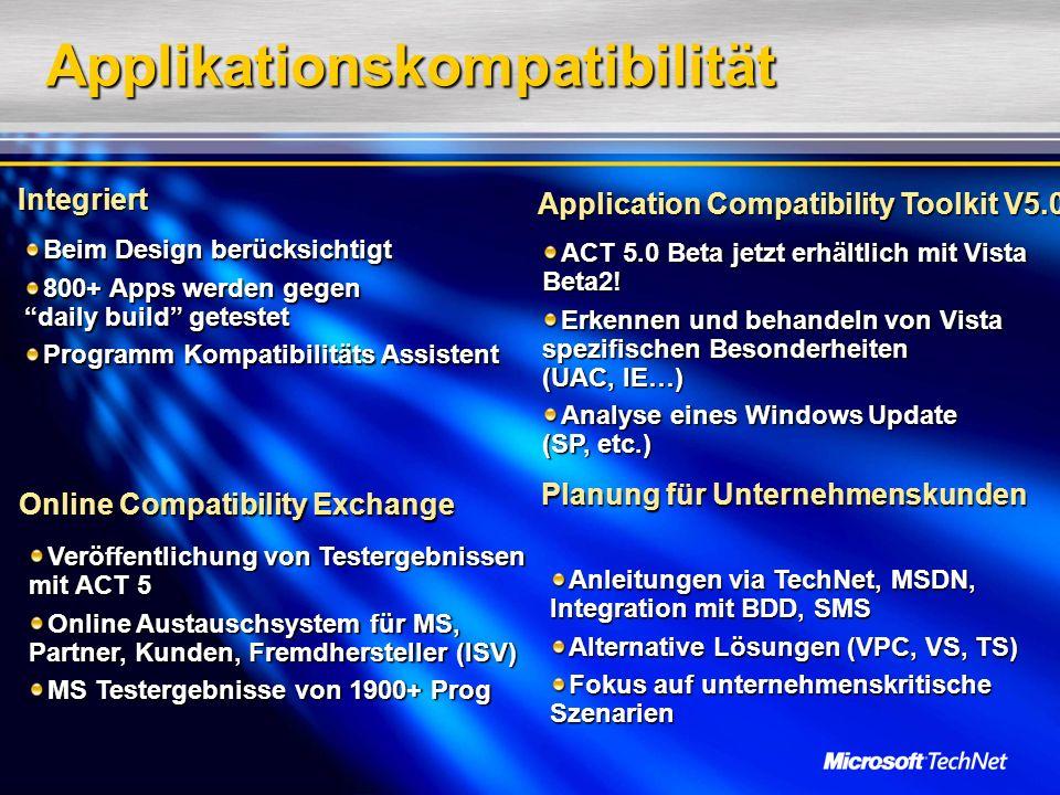 Applikationskompatibilität