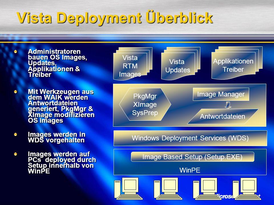 Vista Deployment Überblick
