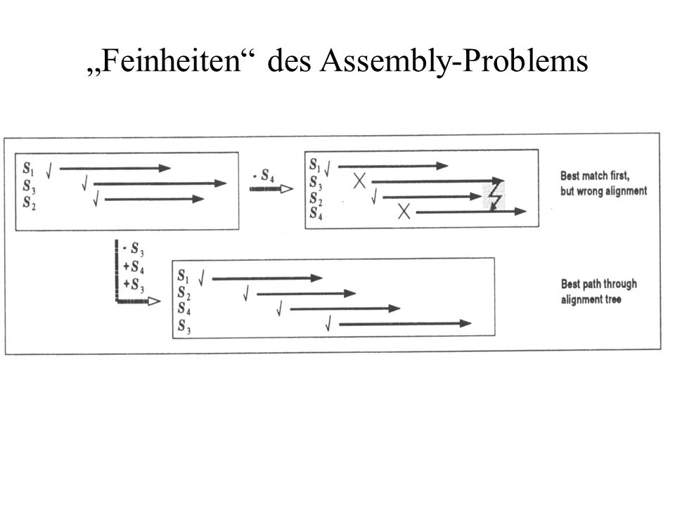 """Feinheiten des Assembly-Problems"
